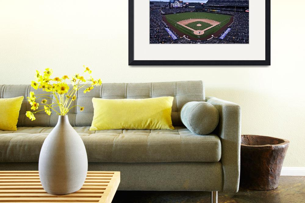 """""""Coors Field&quot  by christiancarollo"""