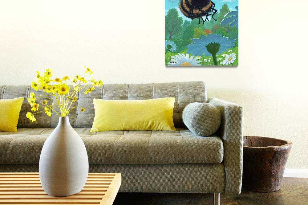 """""""Spring Bee&quot  (2006) by martindavey"""