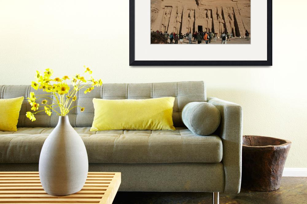 """""""Temple Ramesses abu simbel&quot  by photozrus"""
