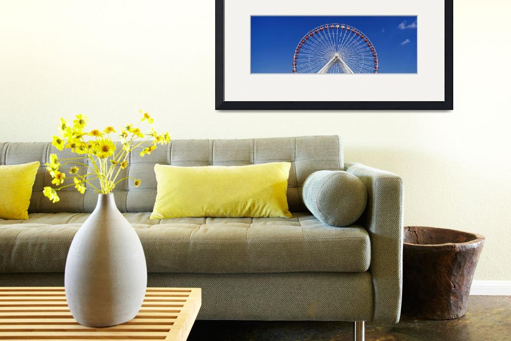 """""""Ferris Wheel Navy Pier Chicago IL""""  by Panoramic_Images"""