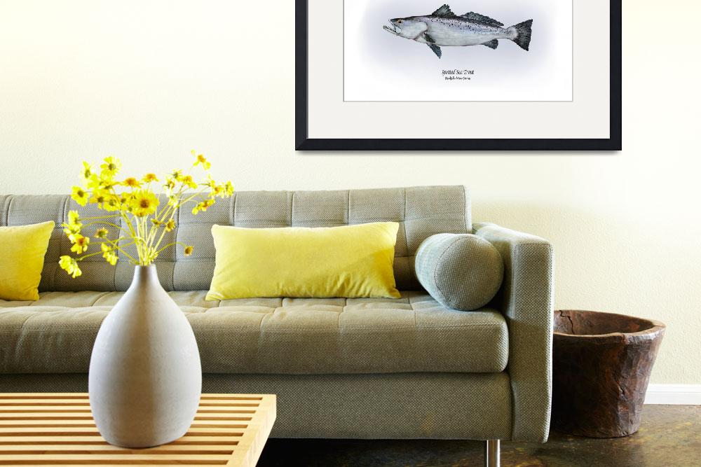 """""""Spotted Seatrout&quot  by RalphMartens"""