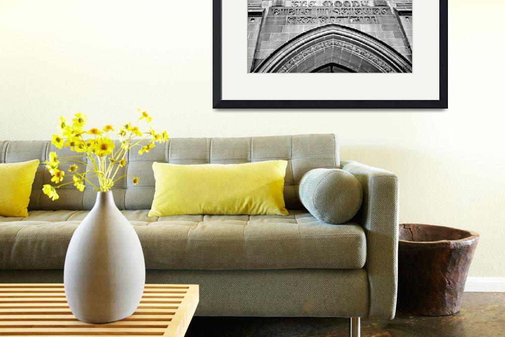 """""""The Arch Pano--Black and White&quot  (2008) by DigiPix"""