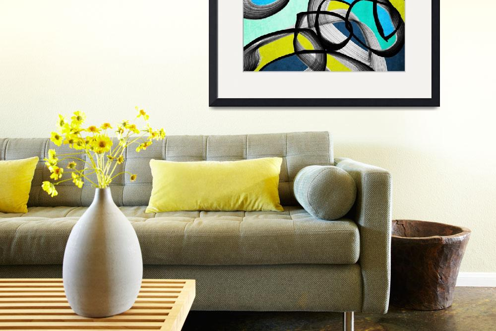 """""""ORL-6891 Vibrant Colorful Abstract-0-65""""  by Aneri"""