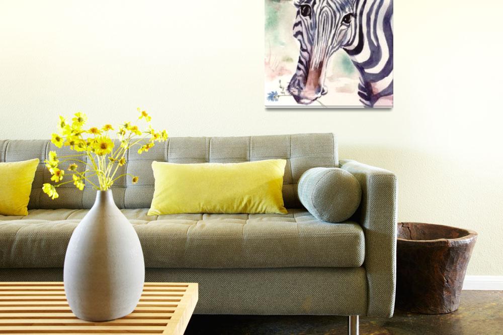 """Zebra""  by allinghamcarlson"