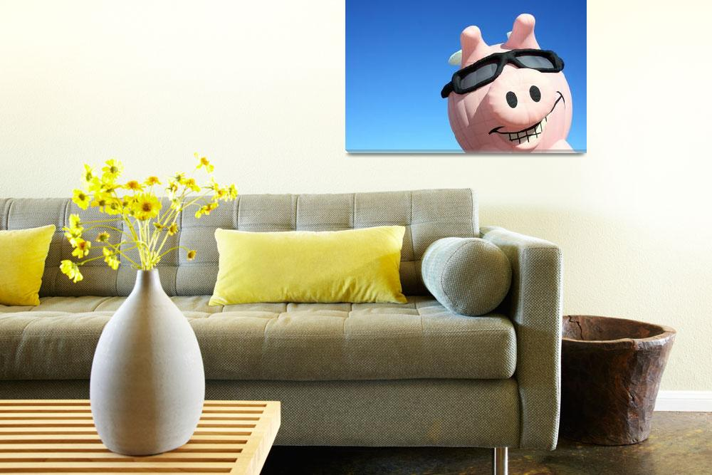 """""""When Pigs Fly&quot  (2011) by christiancarollo"""