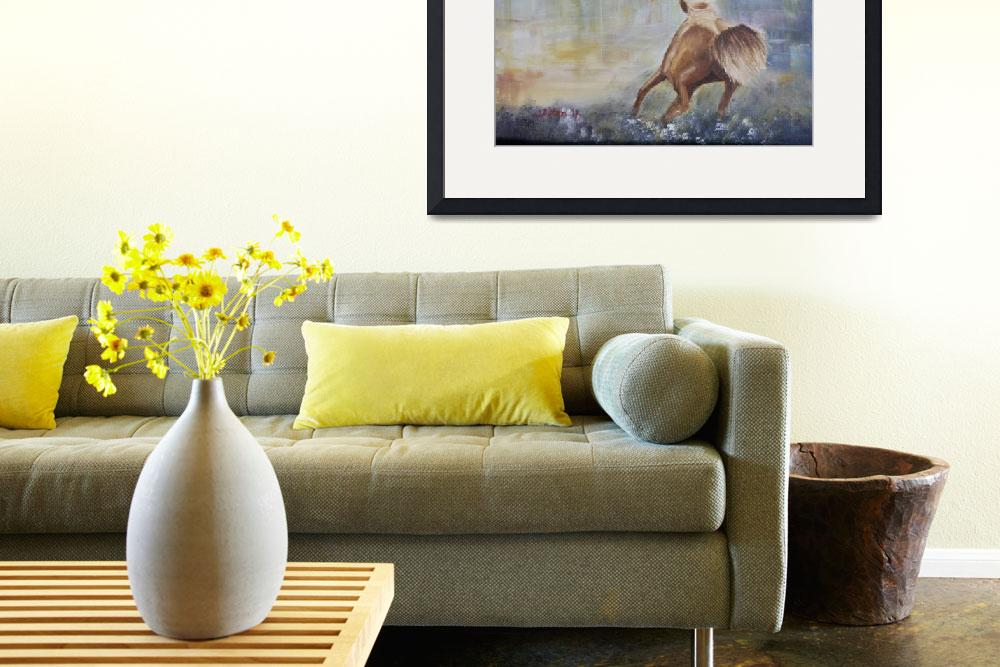 """""""Little Wild Horse&quot  (2013) by cliftondesigns"""