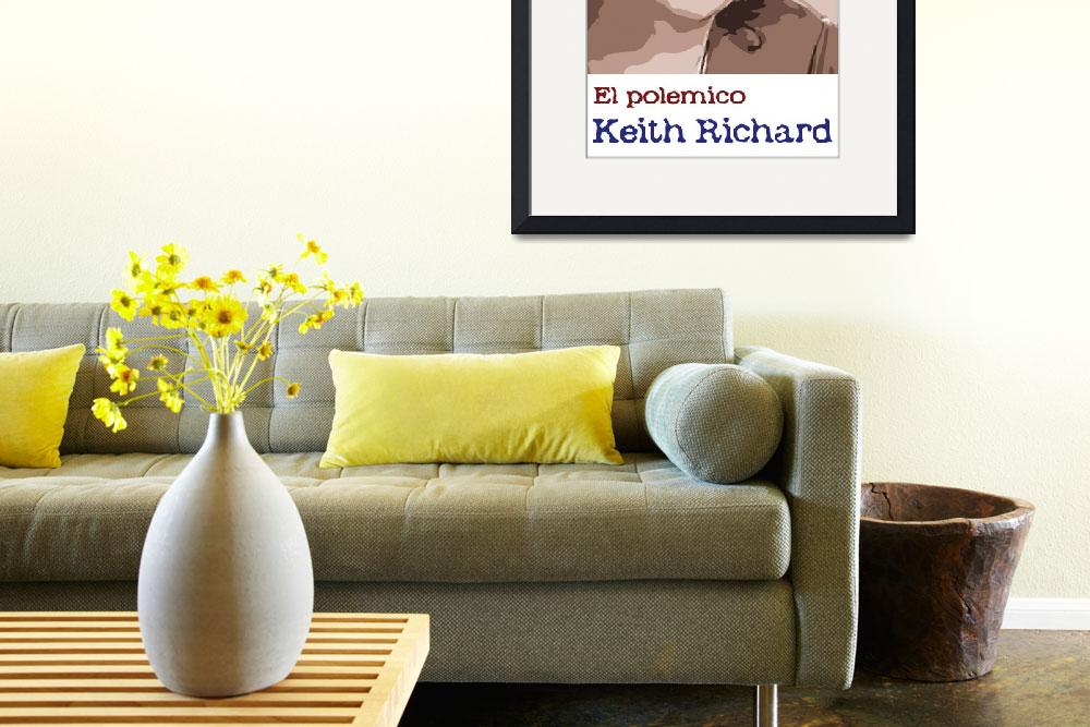 """keitch richards&quot  (2010) by slowman888"