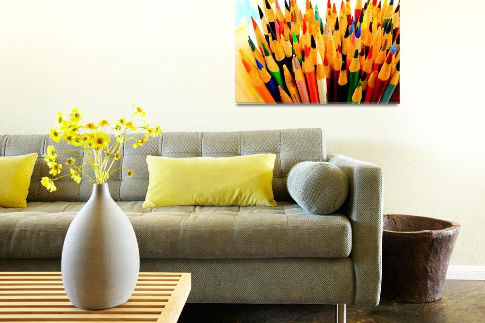 """Colored Pencils&quot  by LaurenAllen"