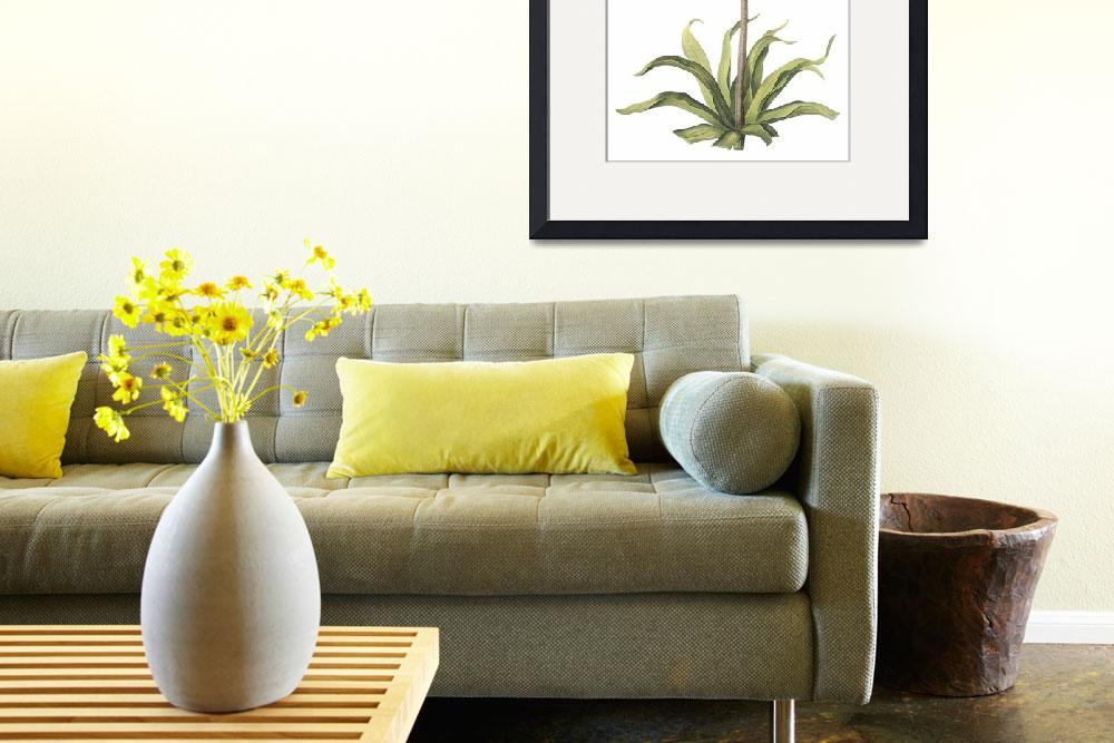 """""""Crown Imperial (Fritillaria Imperialis) Botanical&quot  by ArtLoversOnline"""