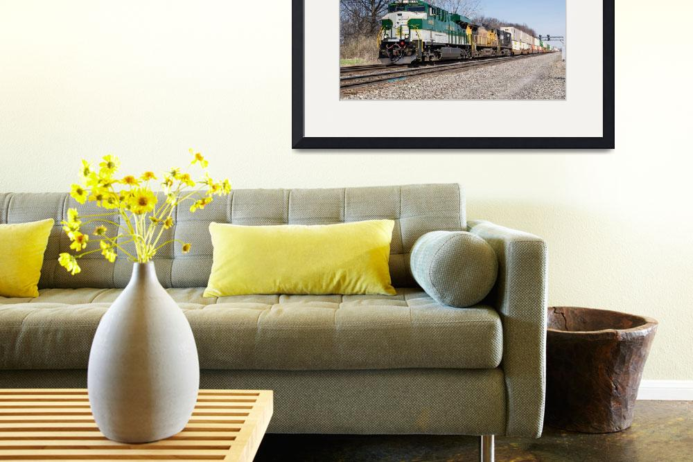 """""""Norfolk Southern Heritage Locomotive&quot  (2014) by StonePhotos"""