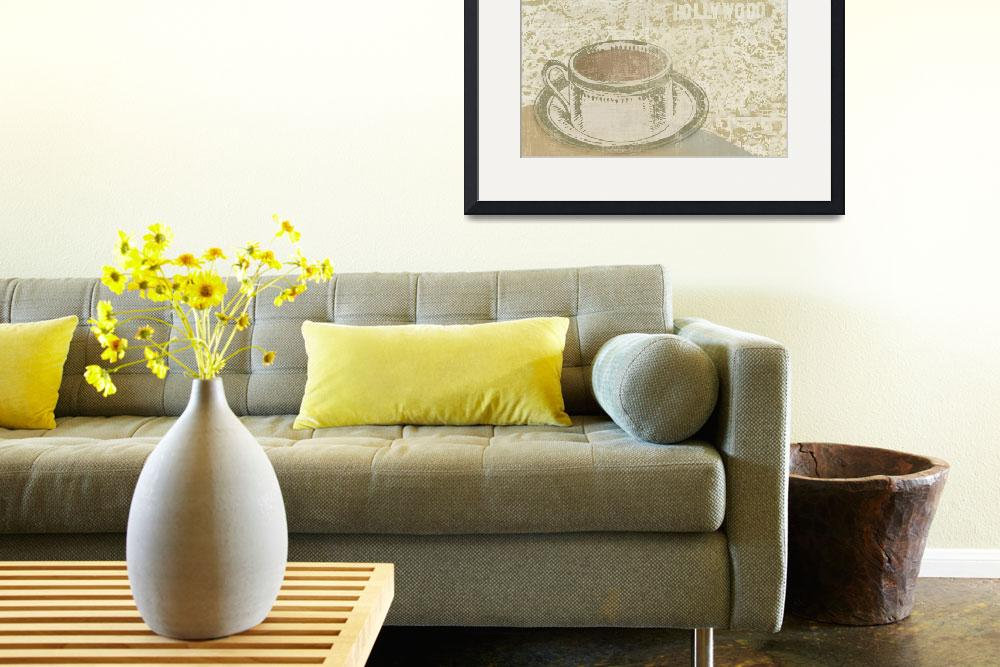 """Hollywood Coffee House&quot  by artlicensing"