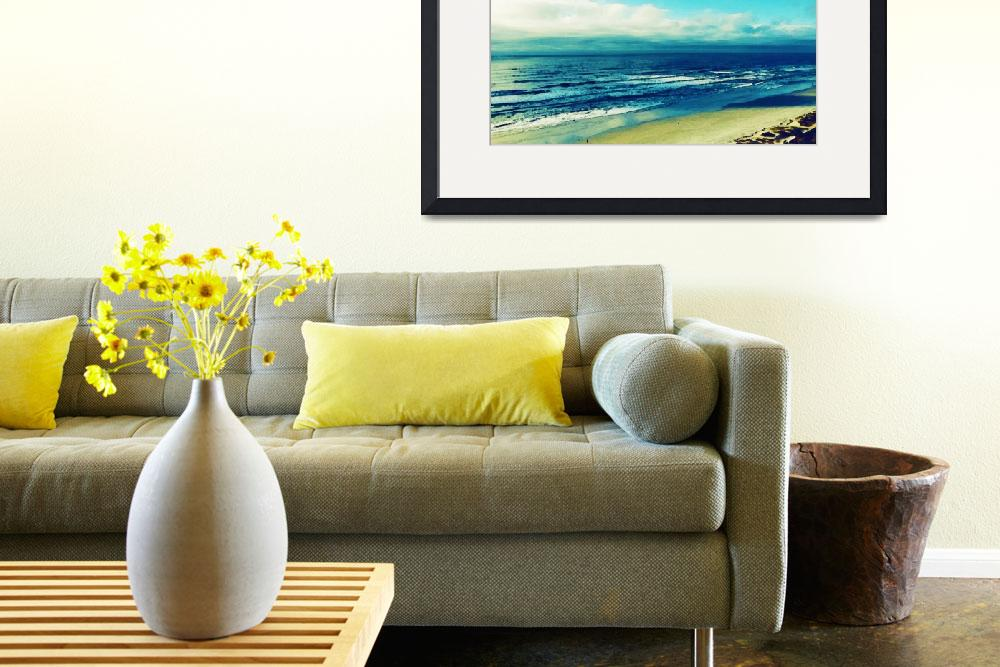 """""""Salt, Sand, Sea,  Watercolor Art by Adam Asar - As&quot  by motionage"""
