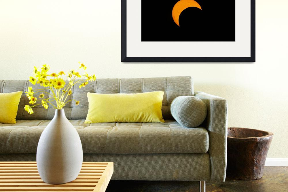 """Partial solar eclipse of 2012&quot  by stocktrekimages"