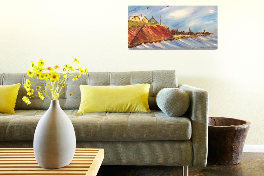 """""""Oceanside Home&quot  by leclairart"""