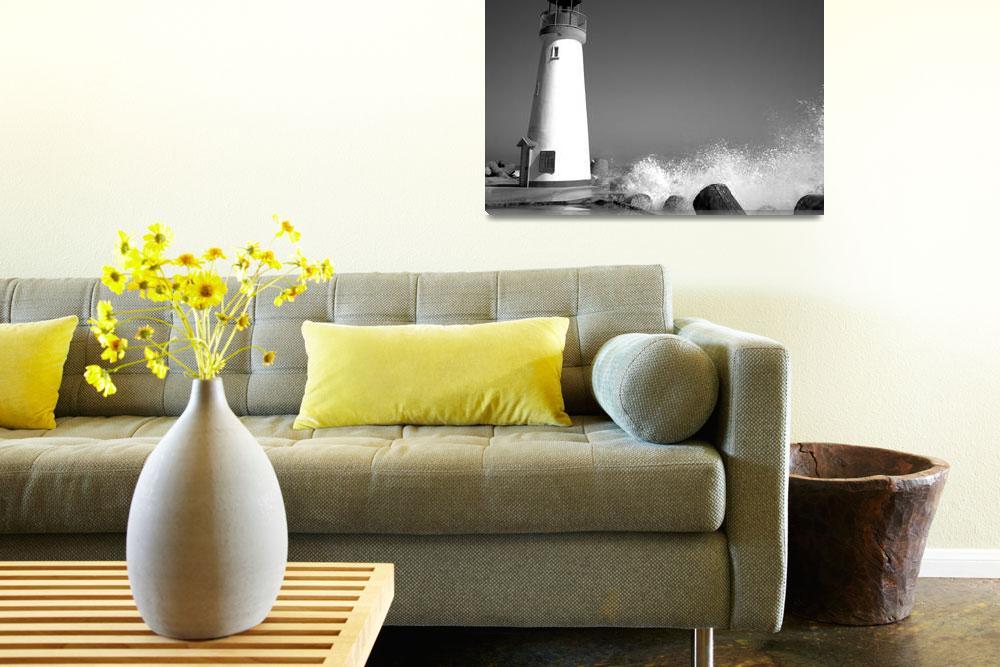 """Walton Lighthouse Santa Cruz&quot  by joelhenner"
