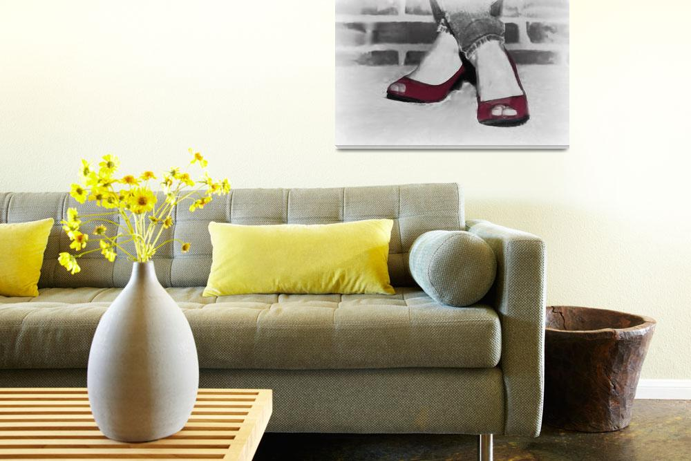 """""""Red Shoes""""  (2011) by mellowone"""