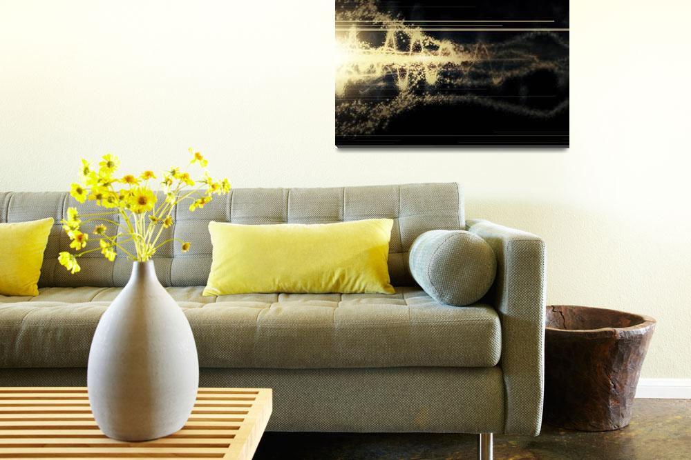 """""""Burst of energy forms into powerful beam of light""""  by stocktrekimages"""