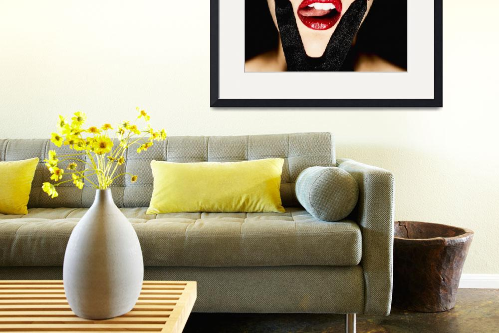 """""""VX Red Lips Pink Tongue""""  by surxposed"""