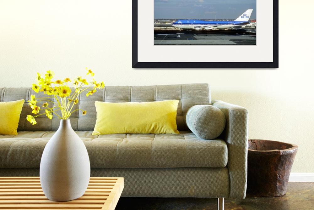 """""""B-747/300 Old KLM&quot  (2001) by JoaoPonces"""