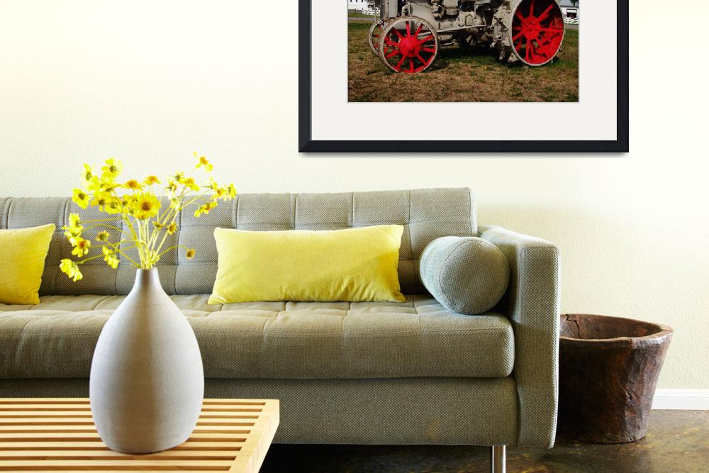 """""""Case Tractor""""  (2013) by StephanieBrower"""