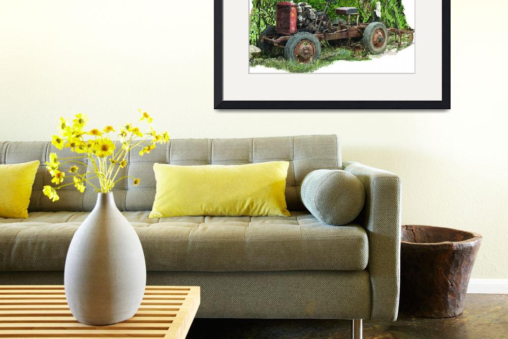 """""""Old Lorry Chassis&quot  (2010) by Artshedbg"""