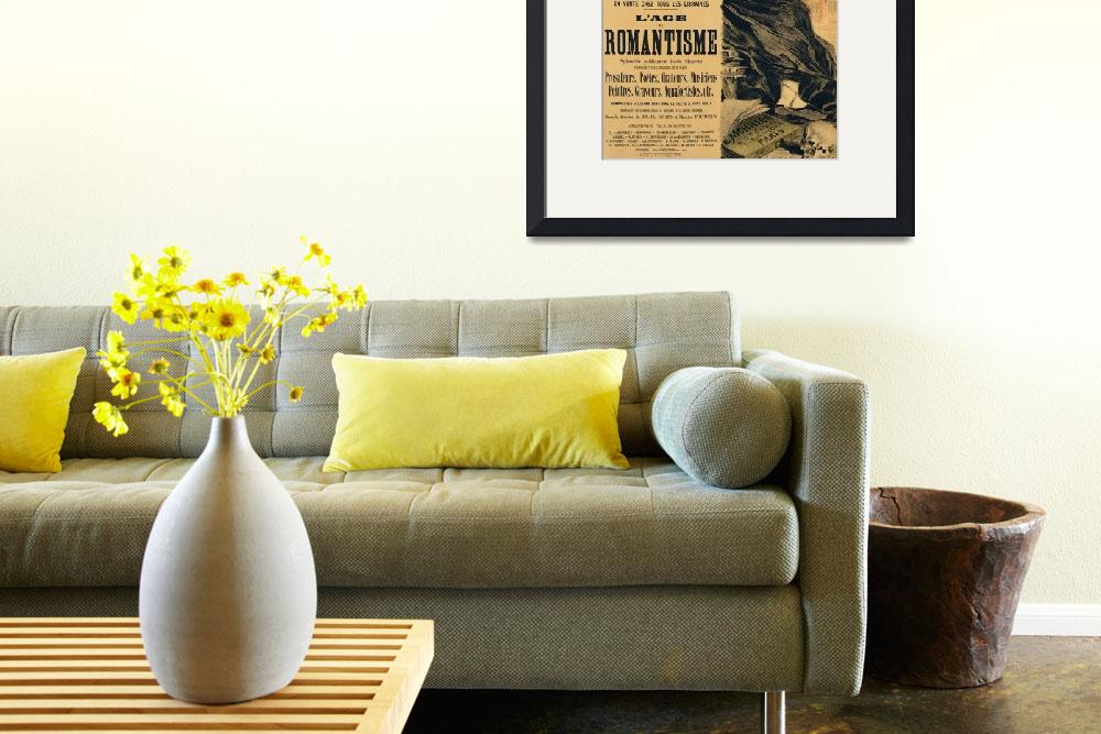 """""""Reproduction of a poster advertising a book entitl&quot  by fineartmasters"""