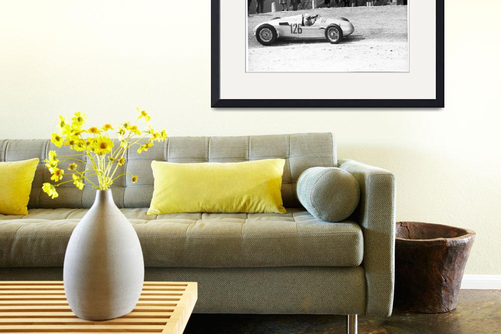 """""""Auto Union Hill Climber 1939&quot  by roadandtrackphotos"""