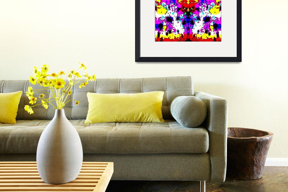 """""""Colorful Pattern""""  (2014) by Phinilez"""