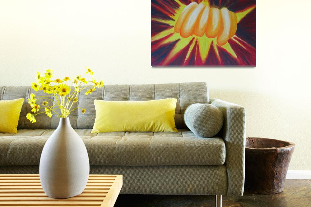"""""""yellow explosion&quot  (2006) by Cocasse"""