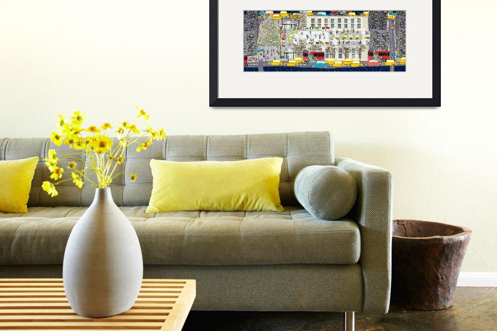 """Rockefeller Center by Joy Laforme&quot  by TheyDrawandCook"