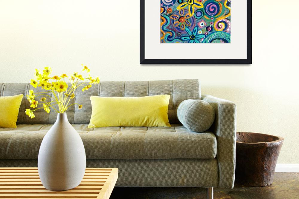 """""""Spring Flowers&quot  (2011) by paintingsbygretzky"""
