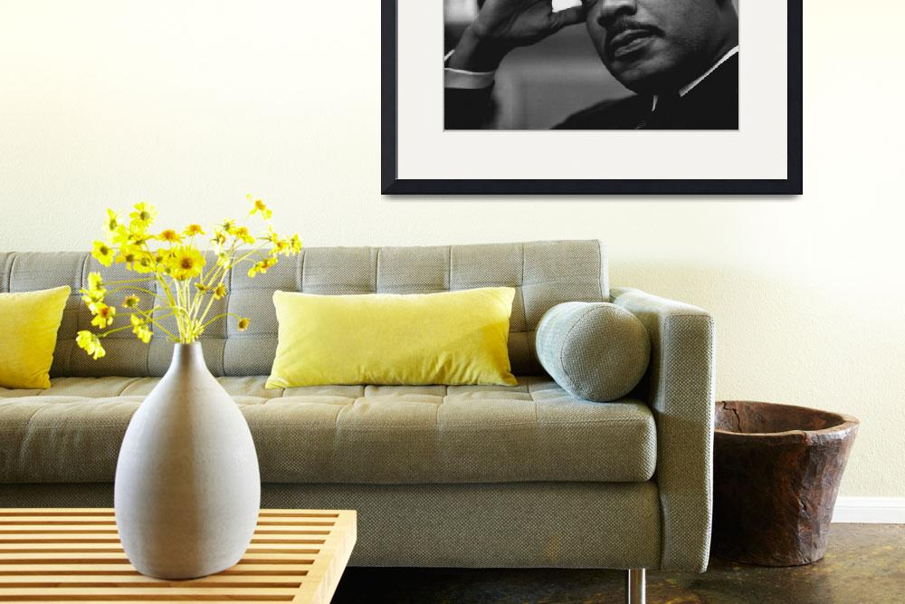 """Martin Luther King&quot  by RetroImagesArchive"