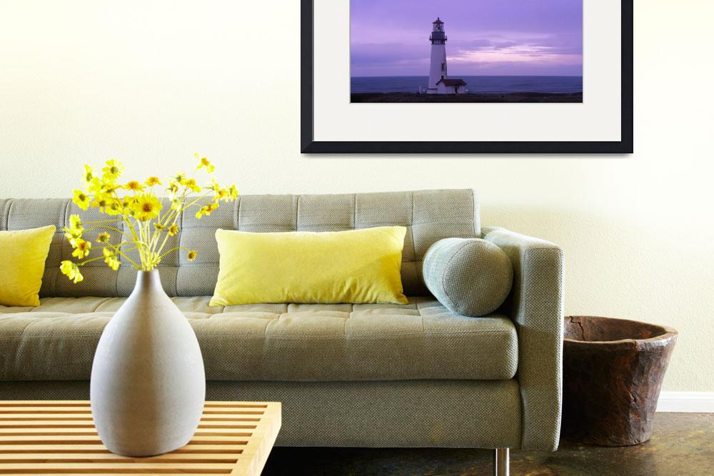 """Yaquina Head Lighthouse&quot  (2001) by kendietz"