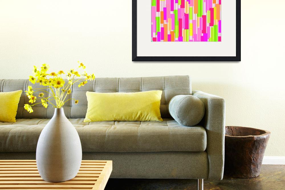 """""""Boxed Stripe""""  by fineartmasters"""