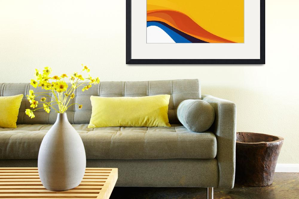 """""""Yellow Wave""""  (2015) by archangelus"""