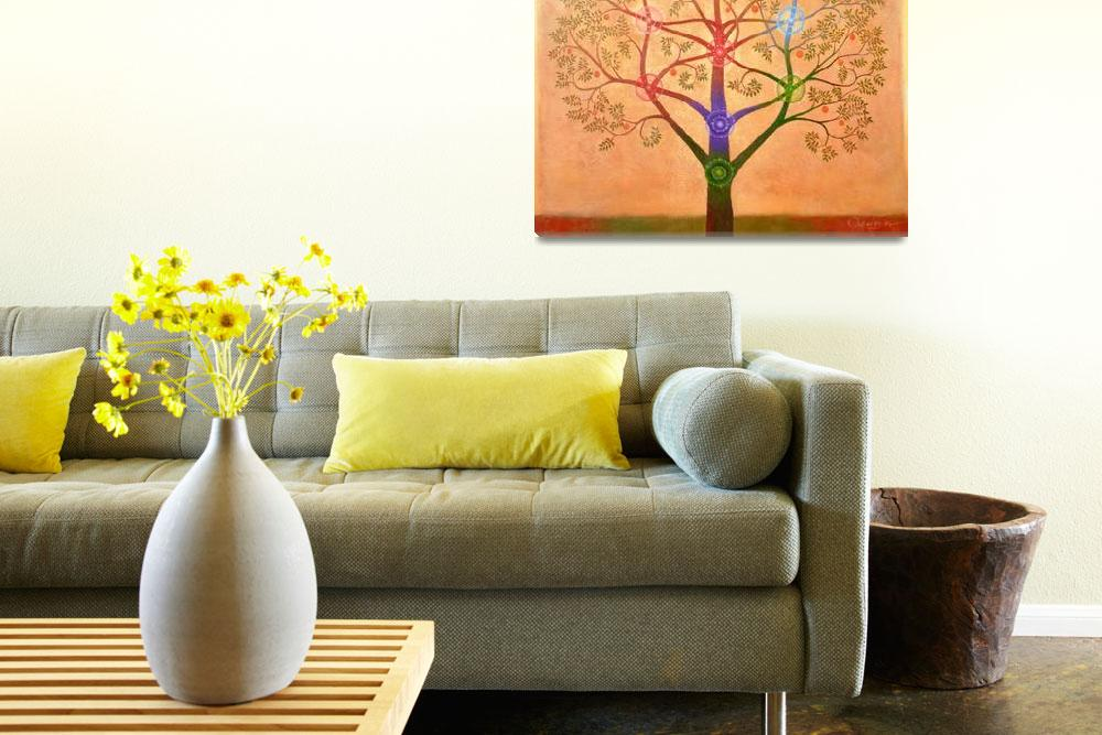 """Tree of Life based on the Kabbalah&quot  by RichardQuinn"