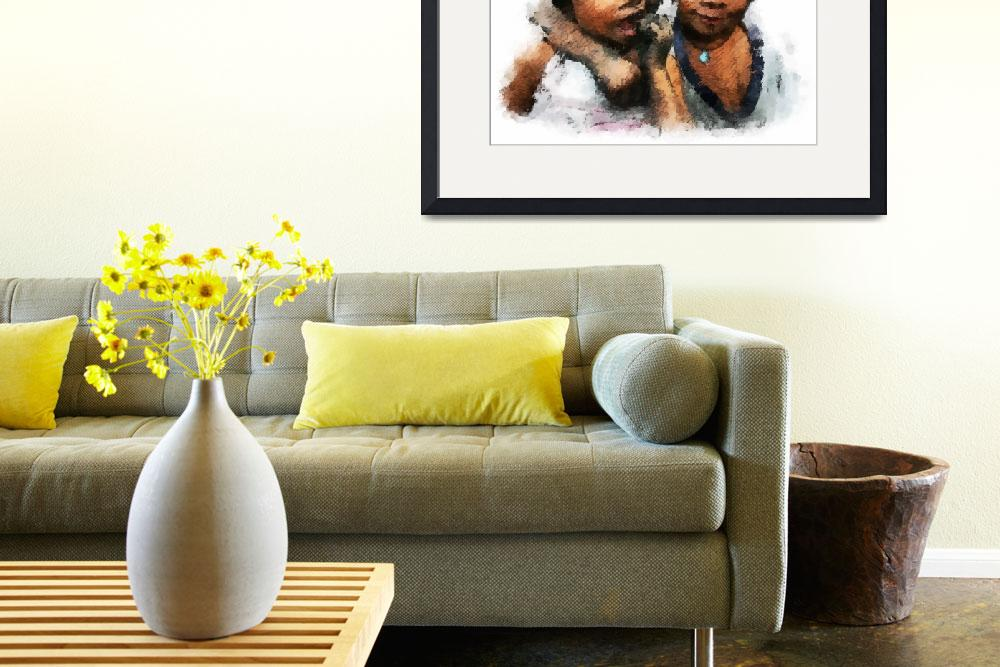 """"""""""" Charcole Kids """" Vector Artwork&quot  (2011) by cdocitylife"""