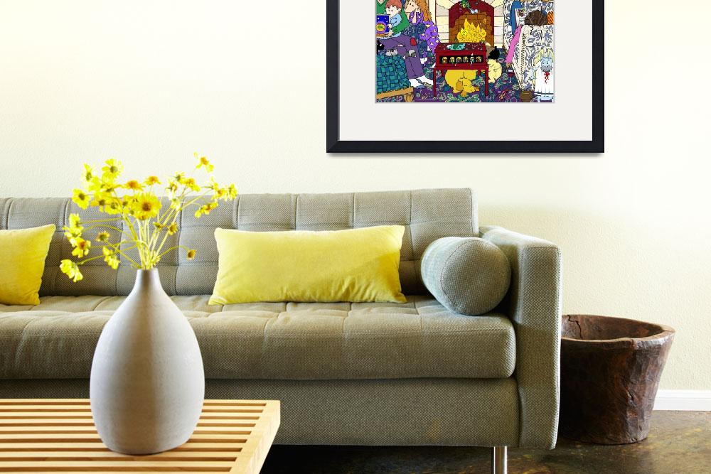 """""""Living Room&quot  by Genevieve"""