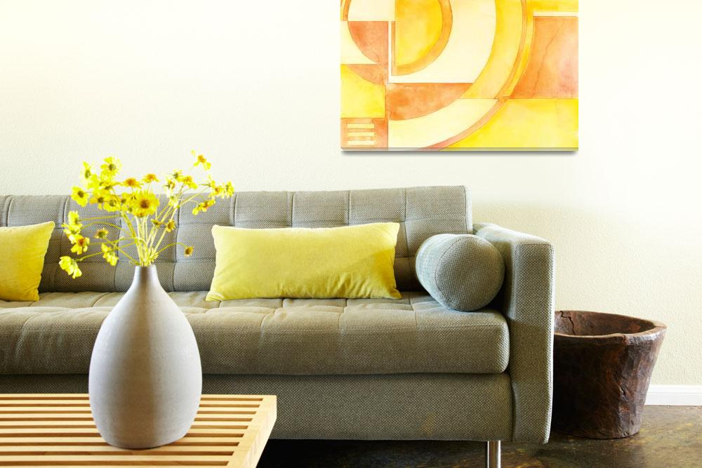 """""""Sunrise Deco&quot  (2010) by SarahBond"""