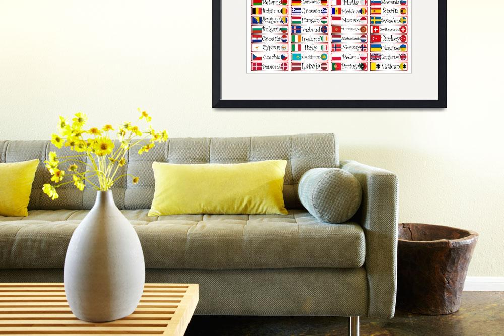 """""""europe flags and icons collection""""  by robertosch"""