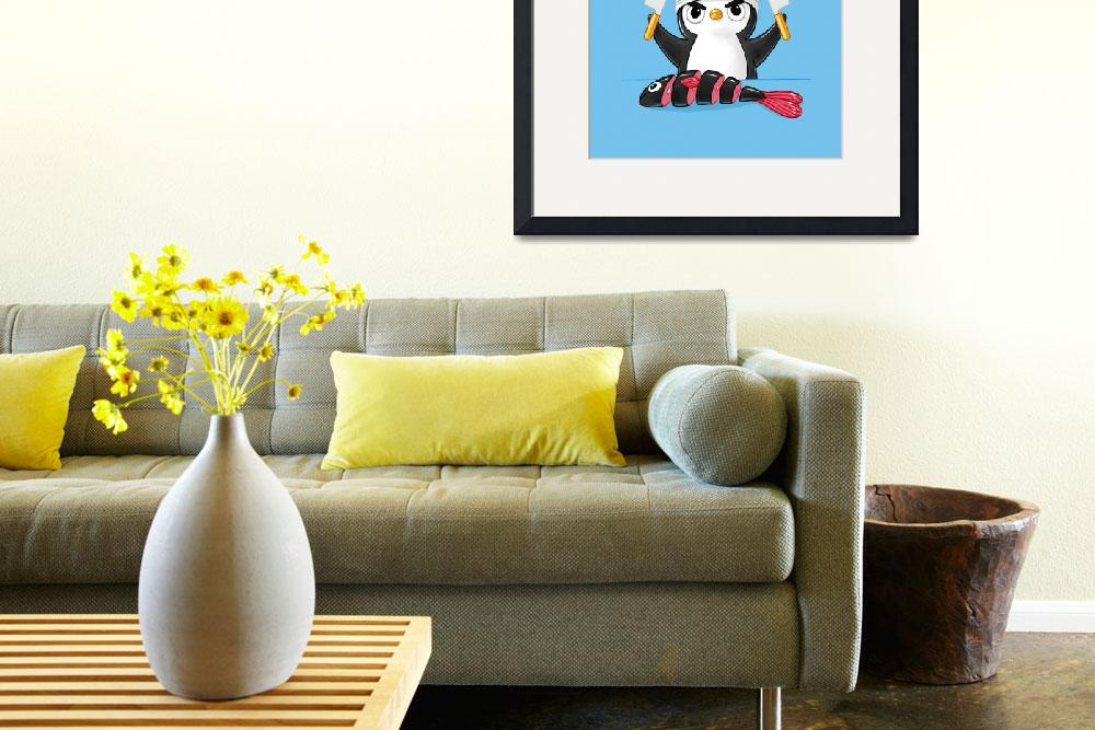 """""""Penguin Chef""""  (2013) by freeminds"""