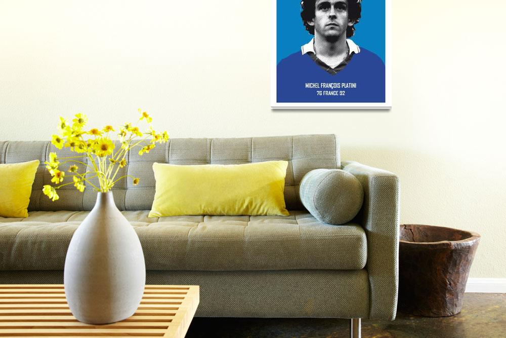 """My Platini soccer legend poster""  by Chungkong"