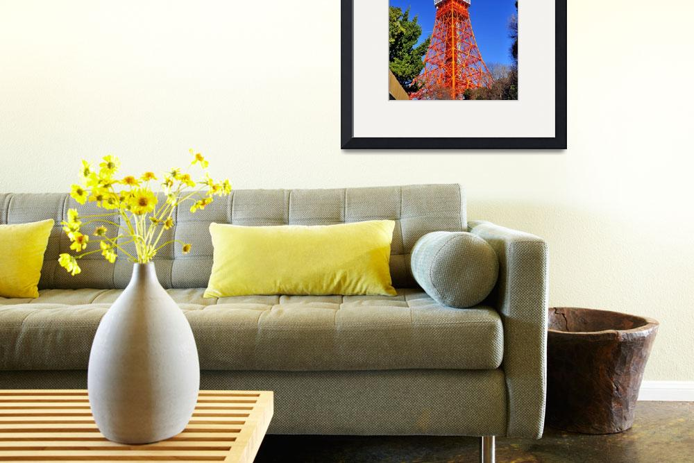 """""""This is NOT a Crane: Tokyo Tower!&quot  (2013) by JoaoPonces"""