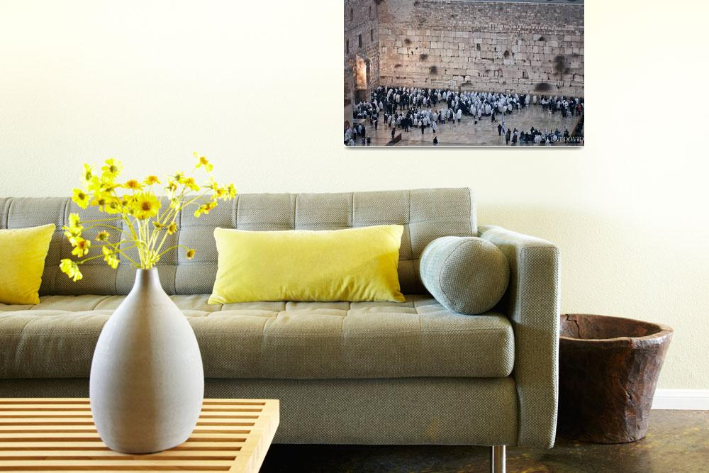 """""""WesternWall&quot  by LEVIDOVID"""