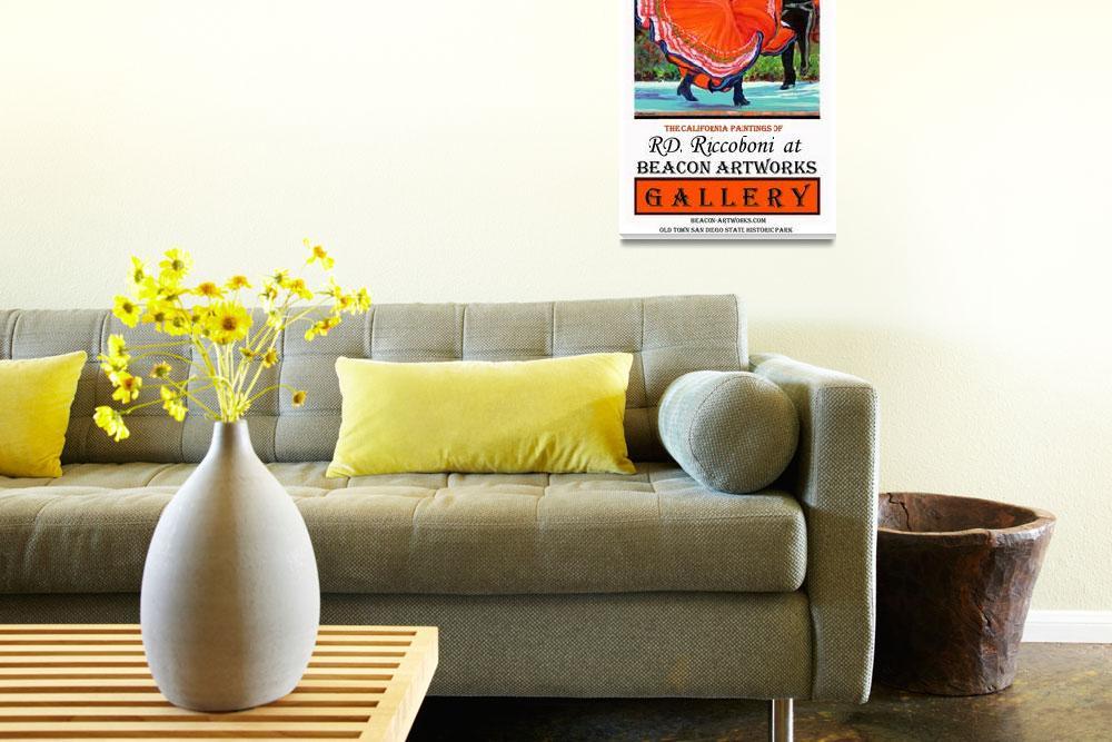 """Fiesta of Art Poster from RD Riccoboni""  (2009) by RDRiccoboni"