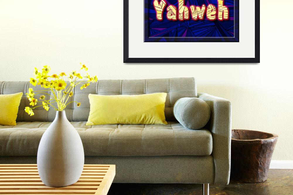 """""""Yahweh&quot  (2007) by DCLWolf"""