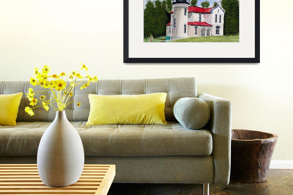 """""""Admiralty Head Lighthouse&quot  by marygaines"""