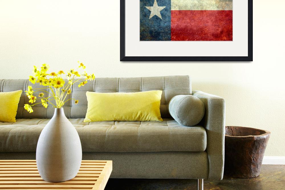 """""""The """"Lone Star Flag"""" of Texas&quot  (2013) by BruceStanfieldArtist"""