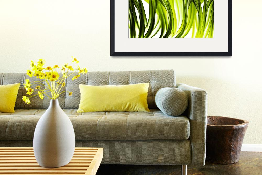 """""""Abstract green grass look""""  by 4u"""