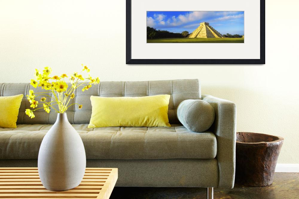 """""""Pyramid in a field&quot  by Panoramic_Images"""